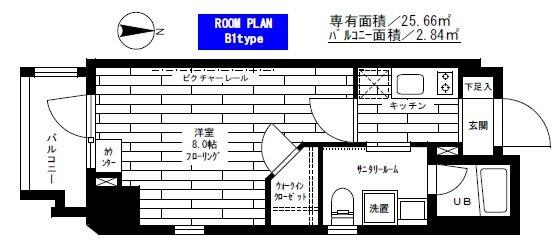 水商売賃貸 ステージファースト新宿原町 間取り図